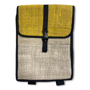 Front of Yellow Laptop Bag